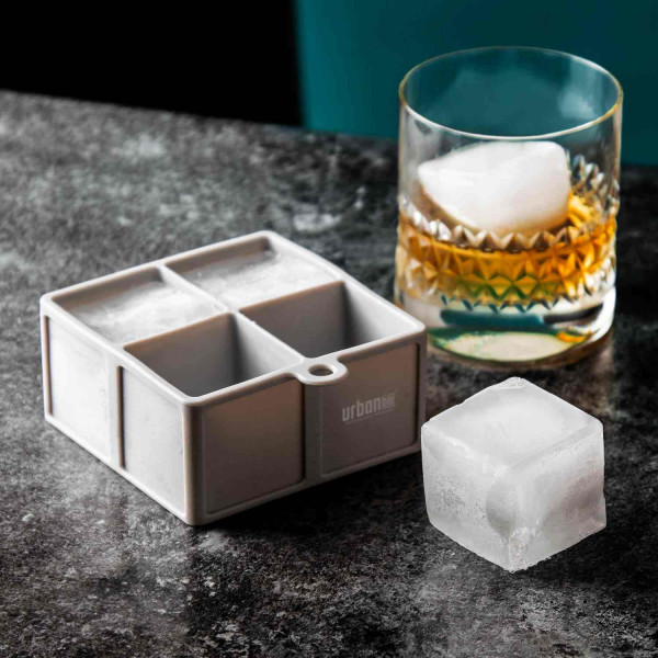 Silicone Ice Cube Tray – 4 Cube