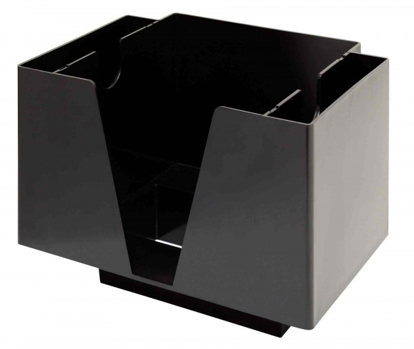 3 Part Bar Organiser Black