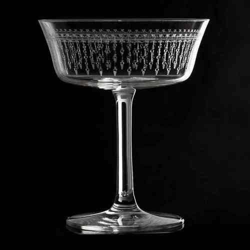Retro Fizzio 1920 Coupe Glas 26cl