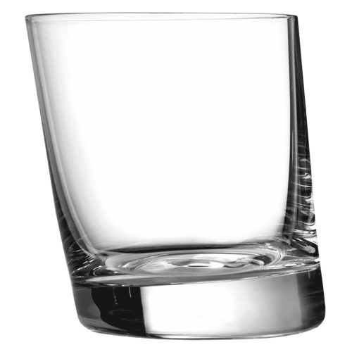 Leaning Old Fashioned Glass 31cl