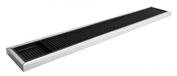 Bar Mat with Stainless Steel Trim 608mm x 100mm
