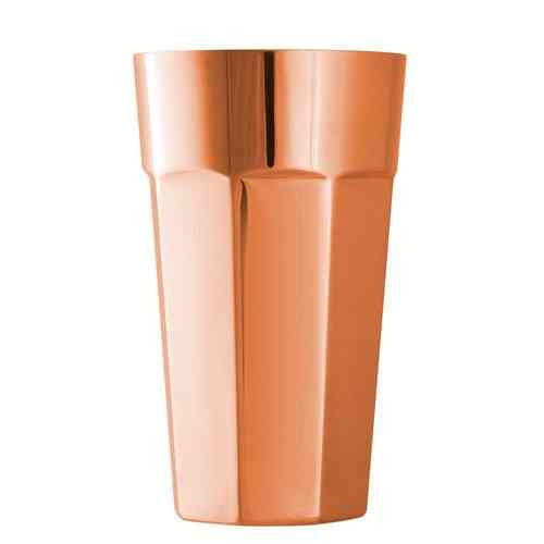 Octagonal Copper Shaker Cup 50cl